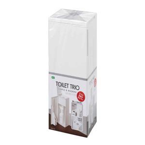 トイレブラシ トイレトリオ 収納 ケース付き トイレ掃除 ( トイレ 掃除 ブラシ トイレ掃除用品 ) livingut 02