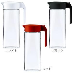 ピッチャー 冷水筒 2.1L ドリンクビオ ワンタッチ 耐熱 縦置き 横置き ( プッシュ式 ポット 冷水ポット 水差し 麦茶ポット ジャグ )|livingut|02