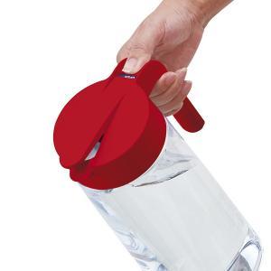 ピッチャー 冷水筒 2.1L ドリンクビオ ワンタッチ 耐熱 縦置き 横置き ( プッシュ式 ポット 冷水ポット 水差し 麦茶ポット ジャグ )|livingut|03