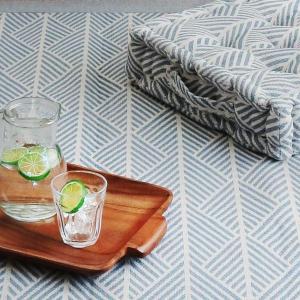 ラグ マット ボンディングラグ クラック 185×240cm 夏用 3畳 インド綿 ( コットン 綿 おしゃれ 長方形 )|livingut|06