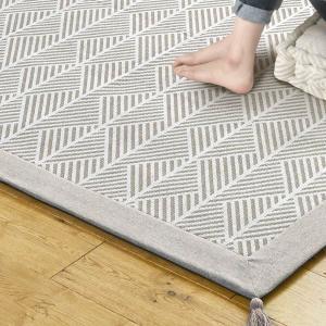 ラグ マット ボンディングラグ クラック 185×240cm 夏用 3畳 インド綿 ( コットン 綿 おしゃれ 長方形 )|livingut|07