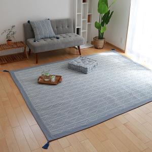 ラグ マット ボンディングラグ クラック 185×240cm 夏用 3畳 インド綿 ( コットン 綿 おしゃれ 長方形 )|livingut|10
