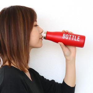 水筒 マグボトル 350ml ステンレスボトル ランチチャイム ( 直飲み 保温 保冷 ステンレス ) livingut 07