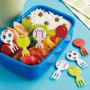 ピック ボールフレンズ フォークピック ピンチョス 8本入り ( キャラ弁 お弁当 保育園 幼稚園 )|livingut
