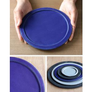 プレート 20cm ベニェ 洋食器 陶器 食器 笠間焼 日本製 ( 皿 中皿 フラットプレート メインプレート )|livingut|08