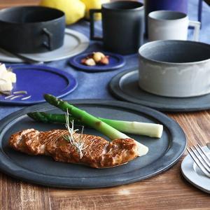 プレート 24cm ベニェ 洋食器 陶器 食器 笠間焼 日本製 ( 皿 大皿 フラットプレート ワンプレート )|livingut|11