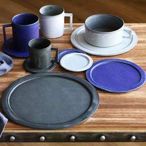 プレート 24cm ベニェ 洋食器 陶器 食器 笠間焼 日本製 ( 皿 大皿 フラットプレート ワンプレート )|livingut|15