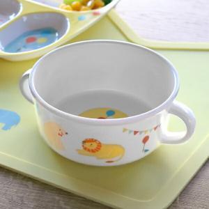 スープボウル 230ml プライマルシリーズ ANIMAL スープカップ ボウル メラミン樹脂 ( 取っ手 小鉢 軽い 子供 子ども用 食器 )|livingut