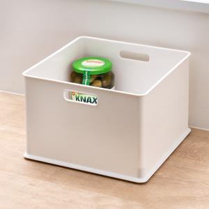 カラーボックス 横置き インナーボックス 収納 squ+ ハーフ インボックス プラスチック 日本製 ( 収納ボックス 収納ケース ボックス ) livingut 12