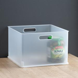 カラーボックス 横置き インナーボックス 収納 squ+ ハーフ インボックス プラスチック 日本製 ( 収納ボックス 収納ケース ボックス ) livingut 13