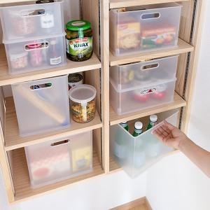 カラーボックス 横置き インナーボックス 収納 squ+ ハーフ インボックス プラスチック 日本製 ( 収納ボックス 収納ケース ボックス ) livingut 17