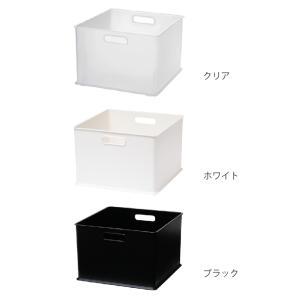 カラーボックス 横置き インナーボックス 収納 squ+ ハーフ インボックス プラスチック 日本製 ( 収納ボックス 収納ケース ボックス ) livingut 04