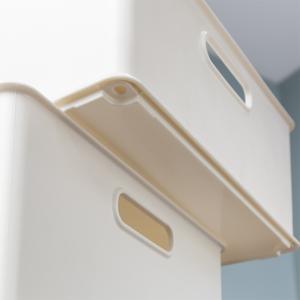 カラーボックス 横置き インナーボックス 収納 squ+ ハーフ インボックス プラスチック 日本製 ( 収納ボックス 収納ケース ボックス ) livingut 07