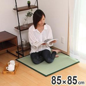 畳 国産 ユニット畳 い草 畳マット 草 約85×85cm い草4層 半畳 ( ラグ マット い草ラグ フローリング畳 )|livingut