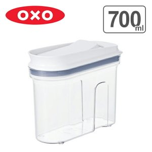 OXO オクソー 保存容器 マルチディスペンサー 700ml 小 ( プラスチック ストッカー 透明...