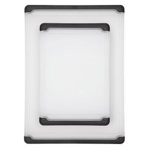 OXO オクソー まな板 2枚入り カッティングボードセット ( まないた 俎板 両面使える )|livingut|02