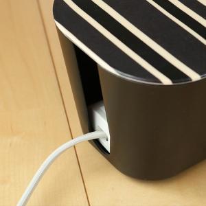 ケーブルボックス ケーブルホルダー テキスタイル M ( ケーブルBOX ケーブル収納 ケーブル 収納 )|livingut|13