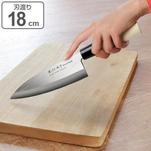 和包丁 出刃包丁 180mm ステンレス 白木柄 ( 左利き用 右利き用 包丁 おすすめ )