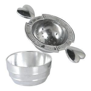 ティーストレーナー アルミパックサーバー 茶こし ダルトン DULTON ( ストレーナー 茶漉し 紅茶 )|livingut