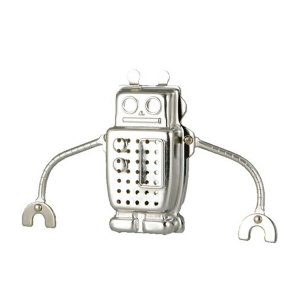 ティーインフューザー ロボット ハンギング ダルトン DULTON ( ストレーナー 茶こし 紅茶 ティーストレーナー )|livingut