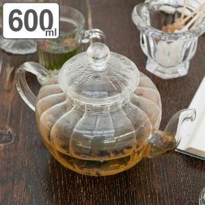 ティーポット 600ml 耐熱ガラス パンプキン おしゃれ ダルトン DULTON ( 紅茶ポット 急須 ストレーナー付き 茶こし付き )|livingut