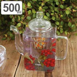 ティーポット 500ml 耐熱ガラス スキュータン おしゃれ ダルトン DULTON ( 紅茶ポット 急須 ストレーナー付き 茶こし付き )|livingut
