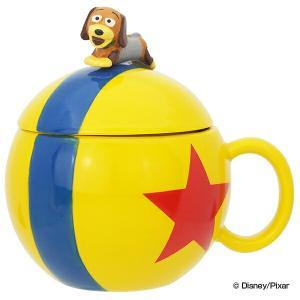 マグカップ 180ml トイ・ストーリー スリンキードッグ ピクサーボール フィギア付 磁器製 ディ...