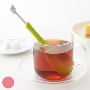 ティープレス 茶漉し 一人分 紅茶 ( ストレーナー 茶こし 紅茶 ティーインフューザー )|livingut