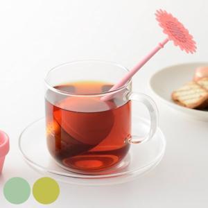 ティープレス 茶漉し 一人分 紅茶 ホルダー付 ( ストレーナー 茶こし 紅茶 ティーインフューザー )|livingut