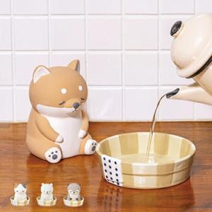 加湿器 気化式 卓上 ねむねむアニマルズ 銭湯 ( 気化式加湿器 陶器 加湿 )