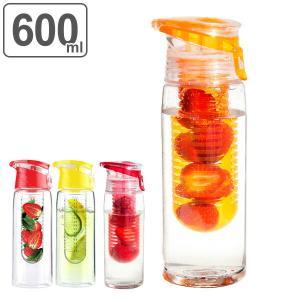 水筒 マグボトル クリアボトル 600ml ウォーターボトル ボトル ( フルーツ 食洗機対応 フレーバーウォーター )|リビングート PayPayモール店