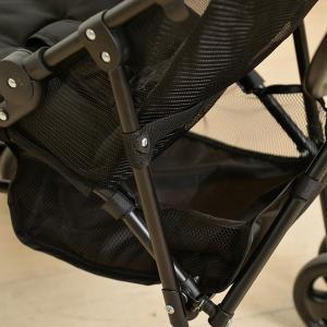 バギー B型ベビーカー 軽量 3.8kg おでかけバギー 4輪 折りたたみ デニム ( ベビーカー コンパクト シート メッシュ 取りはずし 無地 ) livingut 17