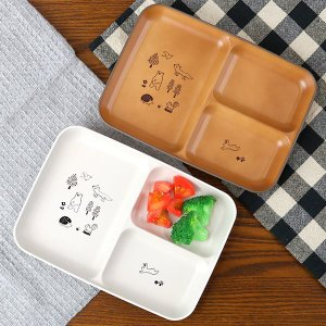 ランチプレート 子供用 15cm 森の仲間たち 子供用食器 プラスチック 日本製 ( 食洗機対応 電...