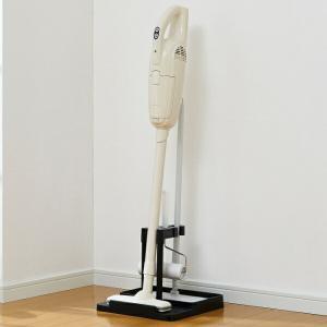 クリーナースタンド 掃除機 スタンド 立てかけ スティッククリーナー フローリングワイパー 粘着ローラー 収納 マキタ 対応 ( 掃除機用スタンド 掃除機収納 )|livingut