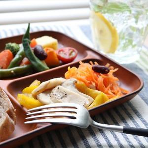 ランチ皿 27cm SEE 仕切皿 ワンプレート プラスチック 食器 皿 日本製 おしゃれ ( 電子レンジ対応 食洗機対応 木製風 ランチプレート 木目調 )|livingut|12