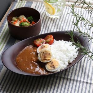 カレー&パスタ皿 26cm SEE カレー皿 プラスチック 食器 皿 日本製 おしゃれ ( 電子レンジ対応 食洗機対応 木製風 カレー皿 木目調 )|livingut|11