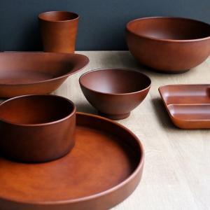 カレー&パスタ皿 26cm SEE カレー皿 プラスチック 食器 皿 日本製 おしゃれ ( 電子レンジ対応 食洗機対応 木製風 カレー皿 木目調 )|livingut|12