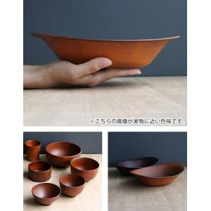 カレー&パスタ皿 26cm SEE カレー皿 プラスチック 食器 皿 日本製 おしゃれ ( 電子レンジ対応 食洗機対応 木製風 カレー皿 木目調 )|livingut|06