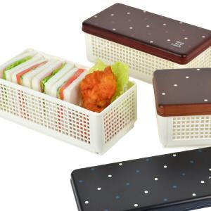 サンドイッチやパン、おにぎりなど、型崩れしやすいお弁当も持ち運べるサンドイッチケースです。折り畳み式...