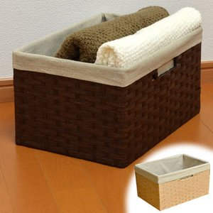収納バスケット ペーパー素材 カラーボックス ( 収納ボックス インナーケース 紙製 )|livingut