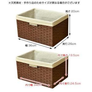 収納バスケット ペーパー素材 カラーボックス ( 収納ボックス インナーケース 紙製 )|livingut|02