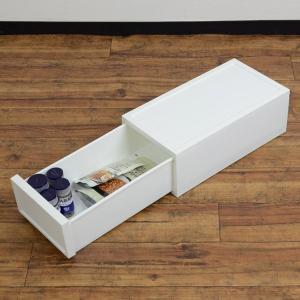 収納ケース 引き出し 収納ボックス プラスチック BOX 衣装ケース 収納棚 ファボーレヌーヴォ チェストS120 幅18×高さ12cm|livingut|05