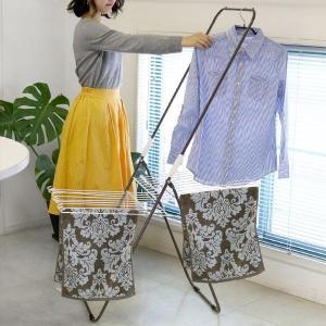 部屋干し コンパクト収納室内物干し 3WAY ( 折りたたみ 洗濯 洗濯物干し 室内物干し コンパクト  )|livingut
