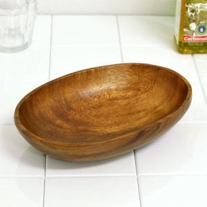 アカシア ボウル 盛皿 オーバル 木製 食器 ( お皿 ウッド ナチュラル )|livingut