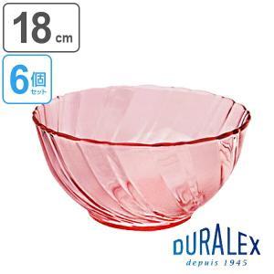 DURALEX デュラレックス BEAU RIVAGE ボー・リバージュ ボウル 18cm 6個セット ( サラダボウル ガラス食器 )|livingut
