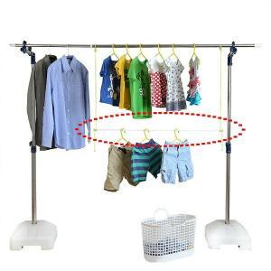 洗濯物干し 物干竿用サオタス ( 物干し ベランダ用 物干し竿 )|livingut