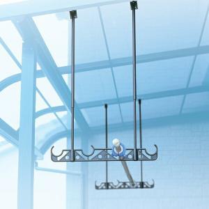 洗濯物干し 吊下げ型物干金物 525mm〜970mm ( 物干し 天井 吊り下げ )|livingut