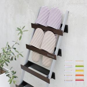 スリッパラック 5足 木製 立て掛け式 ヤマト工芸 yamato ladder rack スリッパ収納 ( スリッパ 収納 スリッパスタンド )|livingut