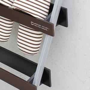 スリッパラック 5足 木製 立て掛け式 ヤマト工芸 yamato ladder rack スリッパ収納 ( スリッパ 収納 スリッパスタンド )|livingut|04