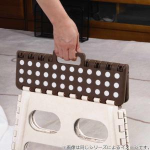 踏み台 セノビー 高さ45cm 天板29cm スーパーのっぽ君 ホワイト ( 折りたたみ 折り畳み 脚立 セノ・ビー )|livingut|06